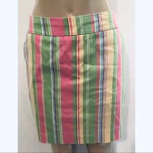 Loudmouth Green Pink Mid Mod Groovy Stripes Golf